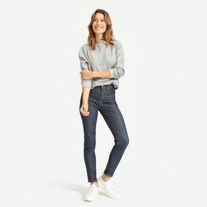Everlane High Rise Skinny Jeans, 27 Regular